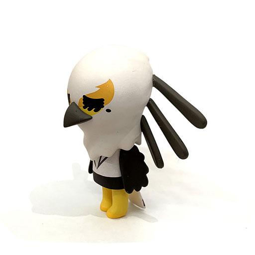 サンリオ アグレッシブ烈子 ビニールミニフィギュア(鷲美)