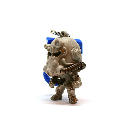 Fallout 76 Backpack Hangers (T-60)