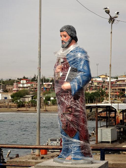 Auch die himmlischen Männer brauchen bei so viel Regen etwas Unterstützung ;o))