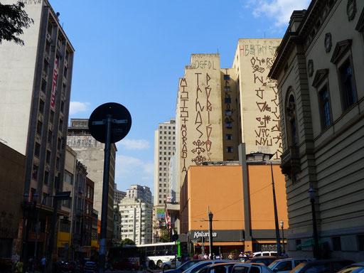 Welcher Aufwand für eine Graffiti !!