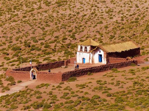 Die alte Kirche von Machuca