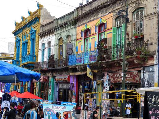 La Boca - lebhaftes Stadtviertel von Buenos Aires