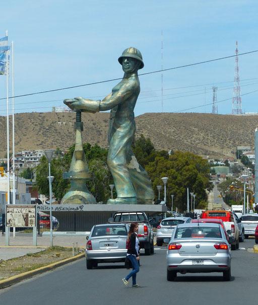 Die Oel-Stadt Caleta Olivia