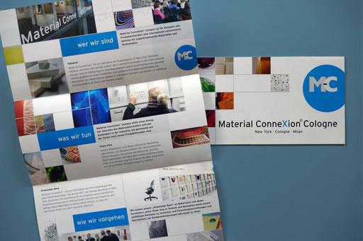 Material Connexion Cologne: Infoflyer