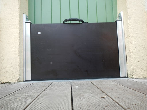 Batardeau-protection directe sur bâtiment-Belgique