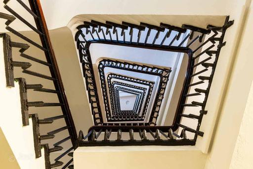 Treppenauge Chilehaus C Hamburg