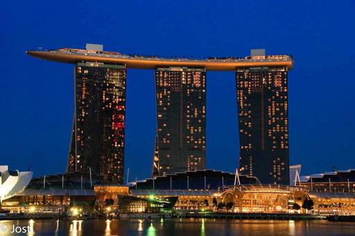 Singapur - Marina Bay Sand Hotel