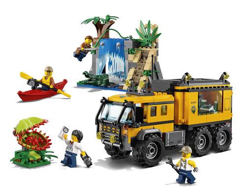 Lego City : le laboratoire mobile de la jungle