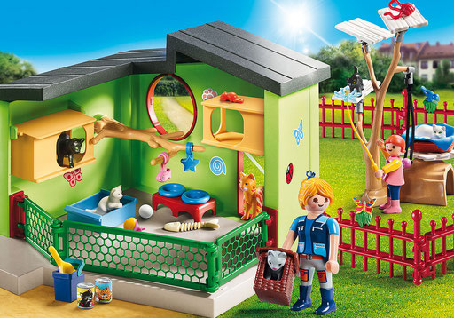 Playmobil - La maison des chats