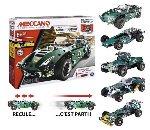Meccano - Cabriolet à rétro-friction