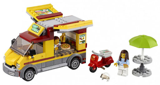 Lego City : le camion pizza