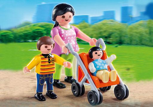 Playmobil : la maman et ses enfants