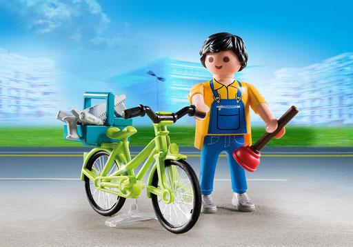 Playmobil : le réparateur à vélo