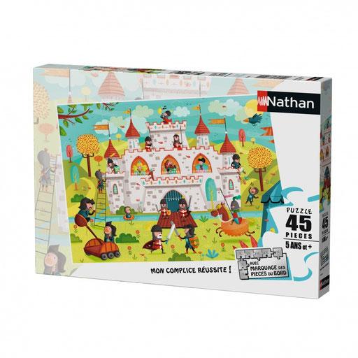 Puzzle - A l'assaut du château-fort