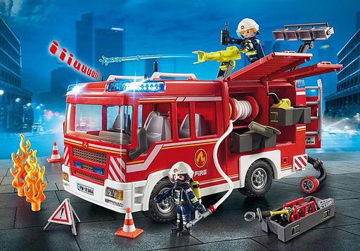 Playmobil : Fourgon d'intervention des pompiers