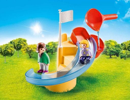 Playmobil 123 - Toboggan aquatique