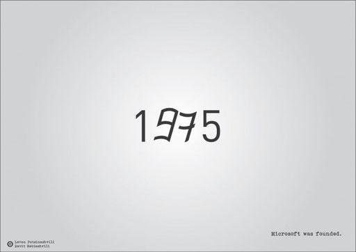 Основание корпорации Microsoft.