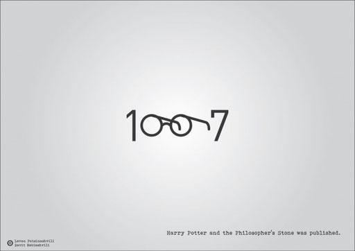 Публикация книги «Гарри Поттер и философский камень».