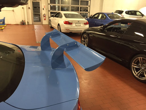 Rear Wing DTM-Style