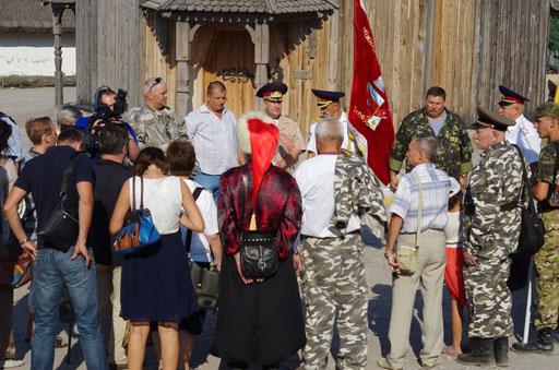 Запорізькі козаки на Хортиці розірвали договір з донськими козаками