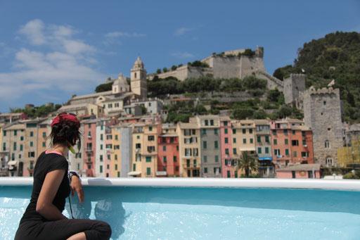 Dans les Cinque Terre en Italie