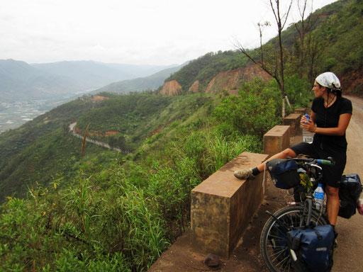 Dans le Yunnan en Chine