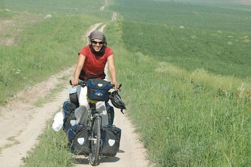 Dans les plaines du Kazakhstan