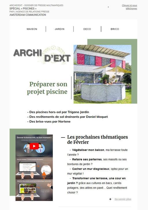"""Archid'Ext, spécial """"Piscines"""""""