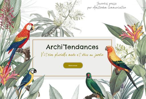 Evénement connecté Archi'Tedances - Agence RP Amsterdam Communication