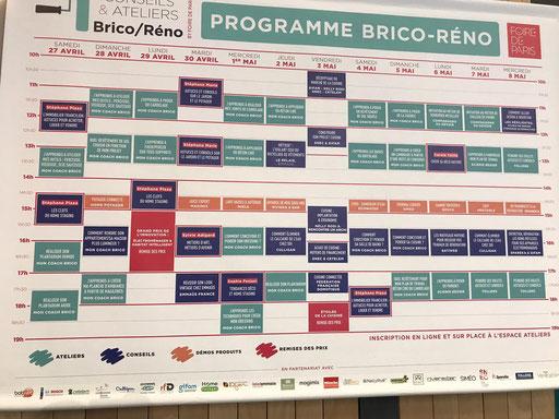 Foire de Paris 2019 - Atelier Brico-Réno