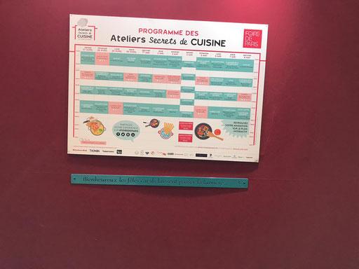Foire de Paris 2019 - Atelier Cuisine - Archi'Tendances - IDfer