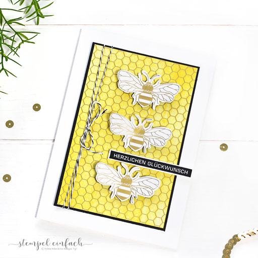 Honey Bee Karte
