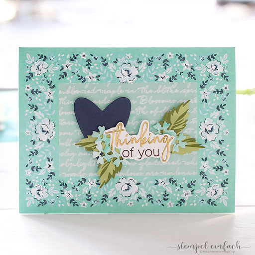 Thinkng of you Stampin´ Up!