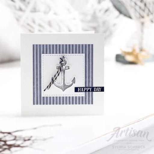 Geburtstagskarte Anker