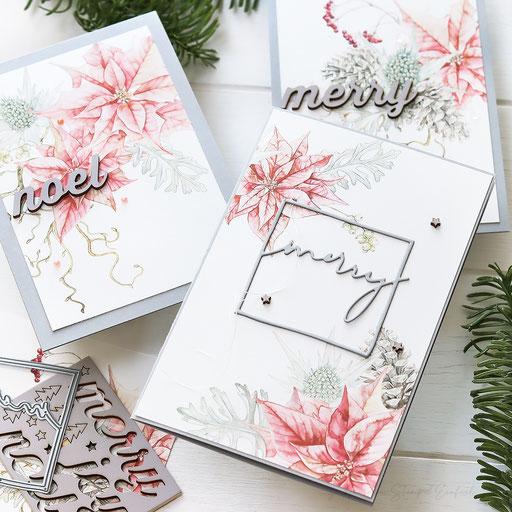 Weihnachtskarten Christrose