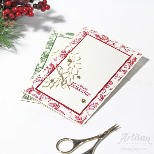 Weihnachtskarten Landhaus