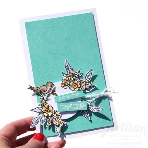 Geburtstagskarte Vogel