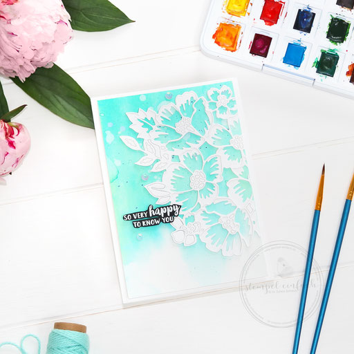 Aquarellkarte