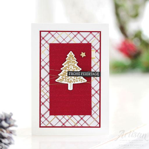 Weihnachtskarte-Tannenbaum