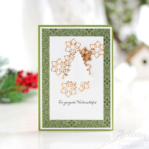 Tannenbaum-Weihnachtskarte