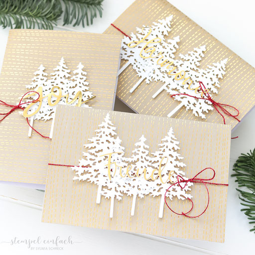 Weihnachtskarten klassisch