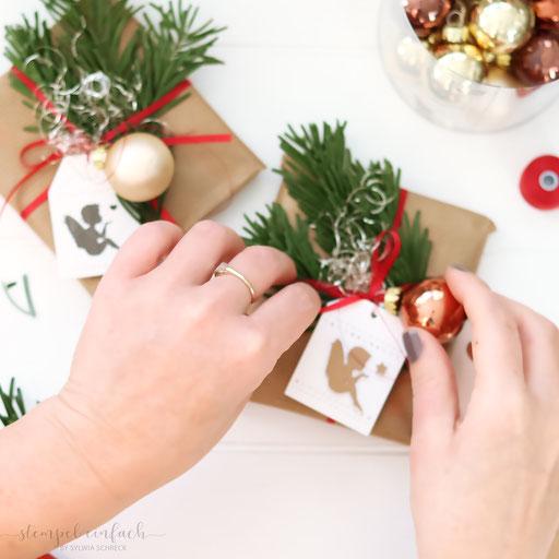 Weihnachtsgeschenke gestalten