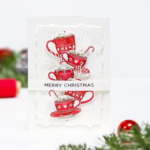 Weihnachtskarte Tassen