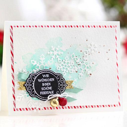 Weihnachtskarte-Kleine Freude