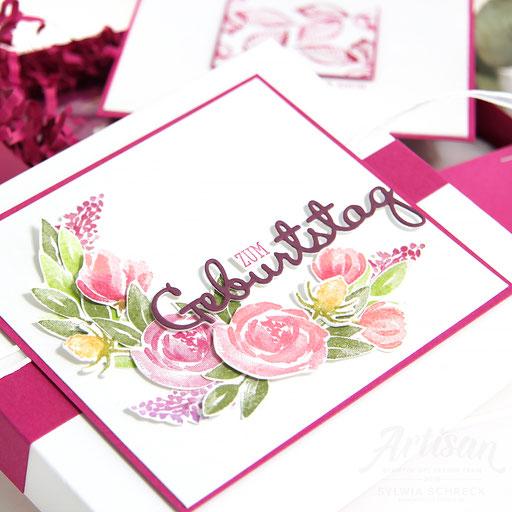 Florale Verpackung