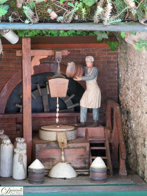 Wasserautomat: der Schleifer - Hellbrunner Wasserspiele Salzburg