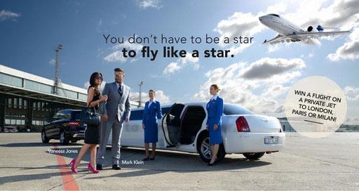 Photographer: Sebastian Pollin   Model: Andy Harmer, Camilla Shadbolt   Client: Elite Airlines