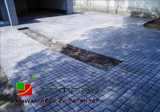 pavimentos de hormigon impreso avila