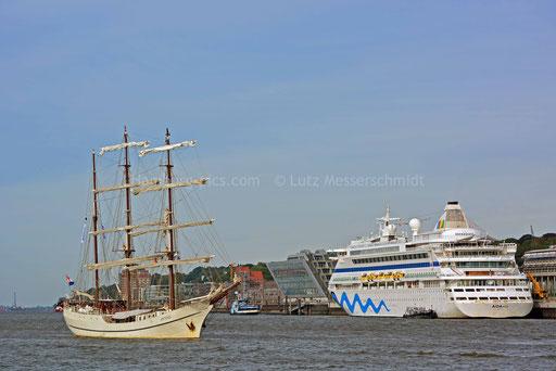 Hamburger Hafen - 224 (ARTEMIS u. AIDAvita)