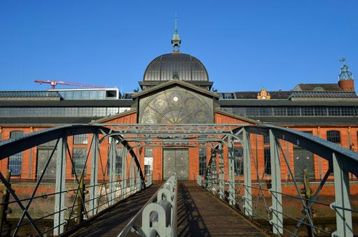 Brücke zum Anleger Fischmarkt